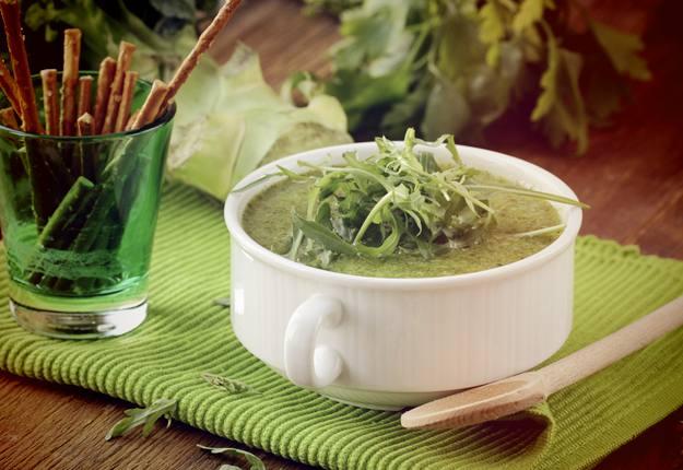 Super greens soup