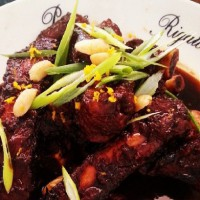 Chinese Style Sticky Pork Ribs