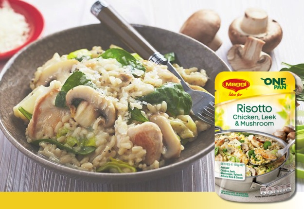 Maggi One Pan Chicken, Leek & Mushroom Risotto Product Review