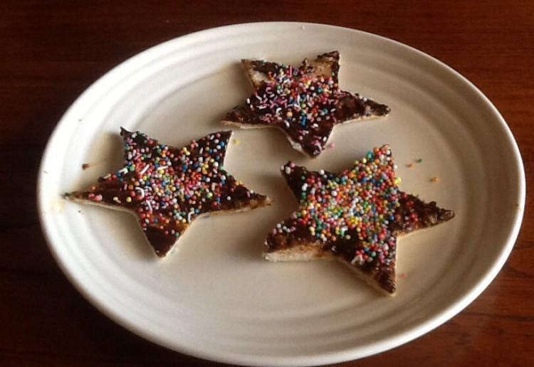 Choc Spread Fairy Bread