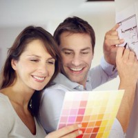 Use colour to invoke positive emotions in a room
