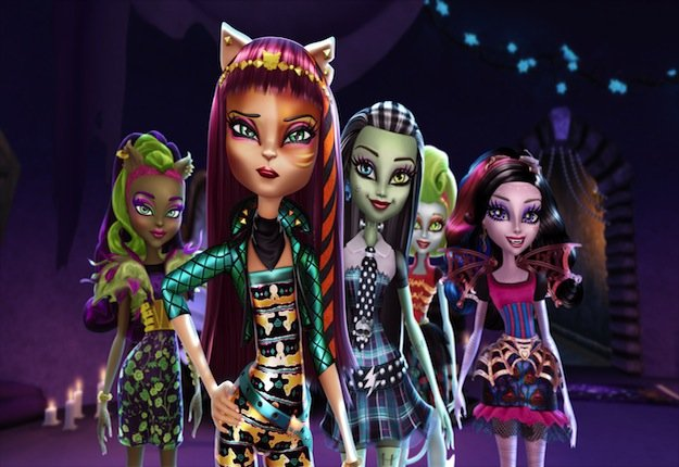 WIN 1 of 20 Monster High™: Freaky Fusion DVDs
