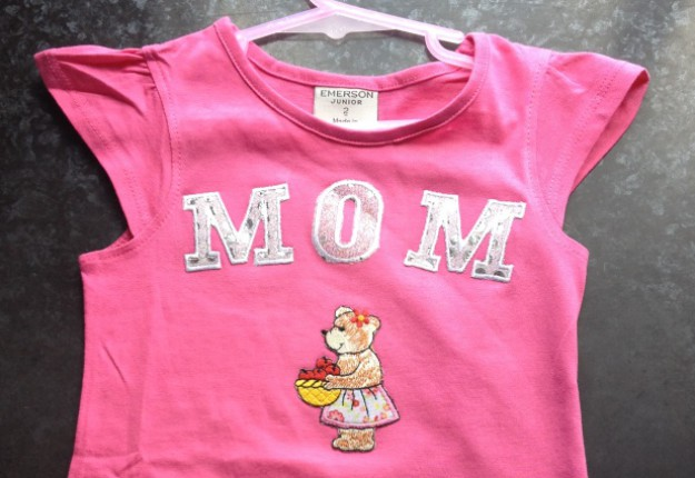 Iron on appliqu t shirt arts crafts and diy for Applique shirts for sale