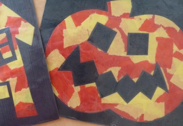 Halloween pumpkin preschool primary school arts for School art and craft