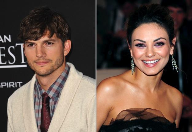 Congrats to Mila Kunis and Ashton Kutcher