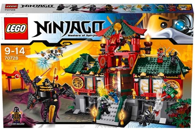 Win a LEGO® Ninjago: Masters of Spinjitzu REBOOTED pack! - Competition