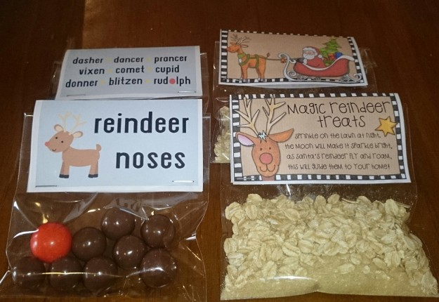 Reindeer food and noses
