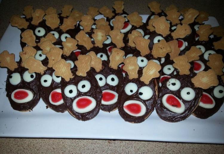 Reindeer Biscuits