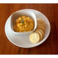 Pumpkin and sweet potato dip