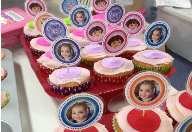 Super Simple Birthday Cupcake Cheat
