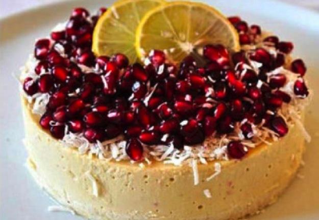 Dorota's Raw Lemon Tart