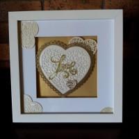 LOVE HEART SHADOW BOX