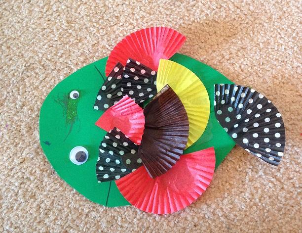 Papercraft fish
