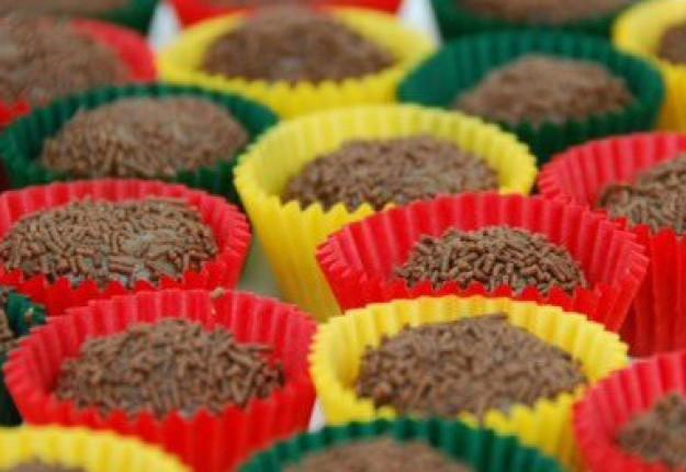 Brigadeiros (Brazilian chocolate balls)