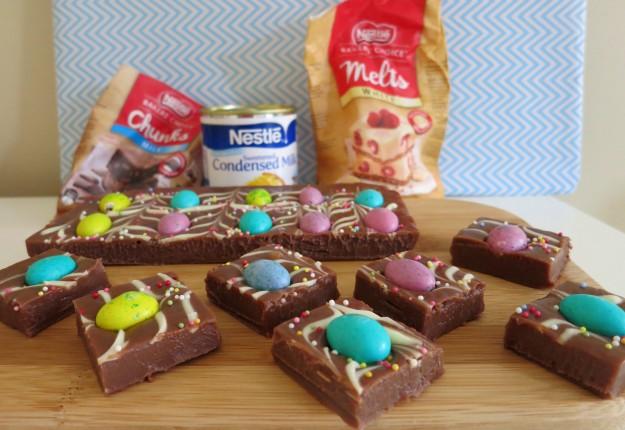 Nestle Double Chocolate Easter Fudge