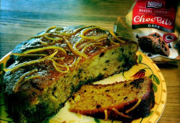 Easy Moist Choc Orange Cake