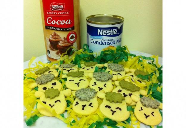 Sheep Shaped Cookies