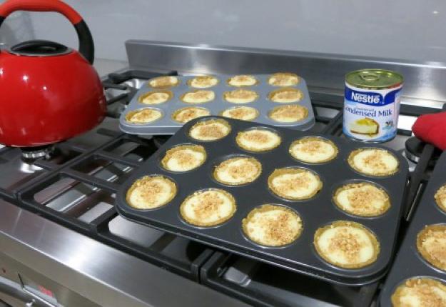 Quick Microwave Milk Tart