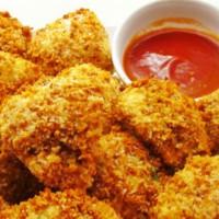 'Chicken' (Cauliflower) Nuggets