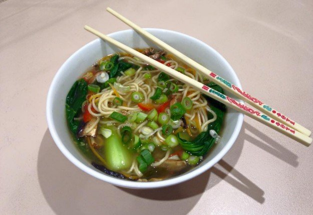 Snapper Soup with Vegetables & Udon Noodles - Real Recipes from Mums