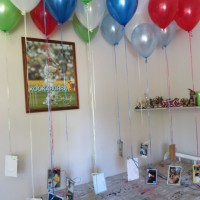 Birthday balloon journey