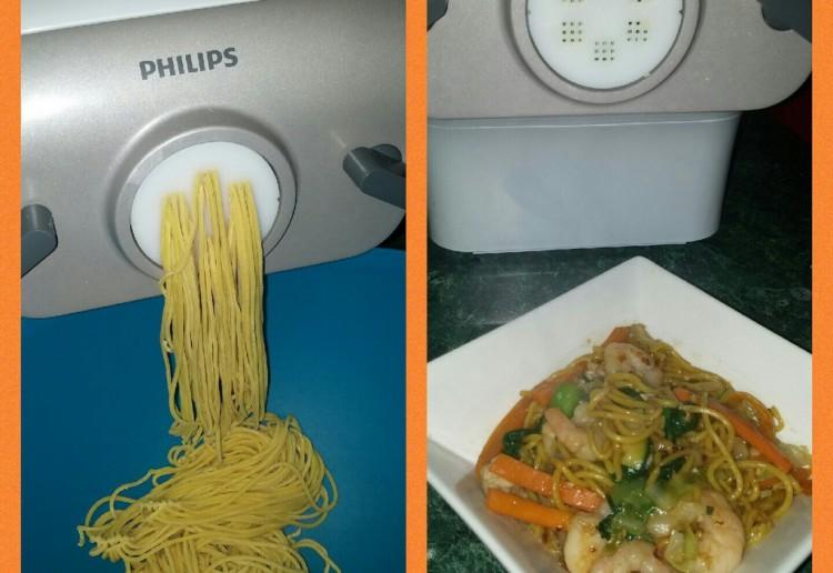 Seafood Singapore Noodles