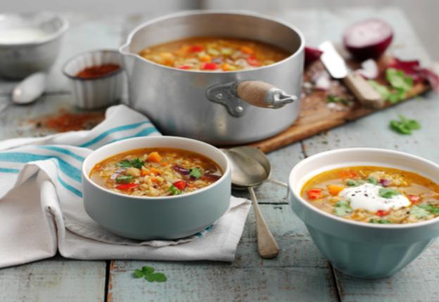 Lightly Spiced Vegetable Soup