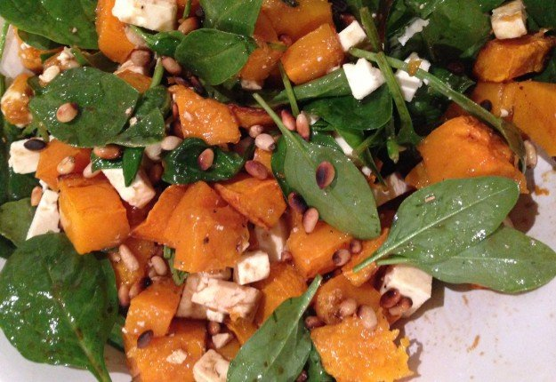 Roasted pumpkin salad - Real Recipes from Mums