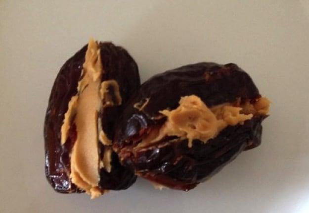 Peanut butter dates