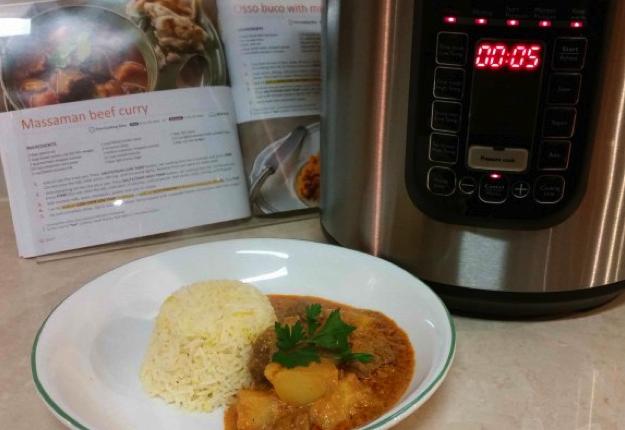 crystalangela reviewed Massaman Beef Curry