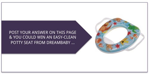 answers_win an easy clean potty seat from dream baby