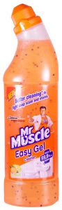 Mr muscle easy gel bathroom cleaner product review for Mr muscle idraulico gel