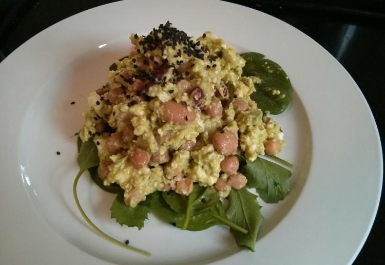 Feta, avocado and egg smash