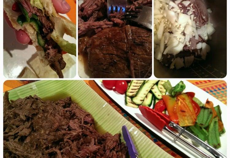 Slow Cooked Lamb 'Souvlaki'