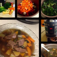 Slow Cooked Beef Soup