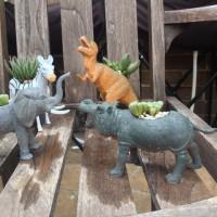 Animal planters