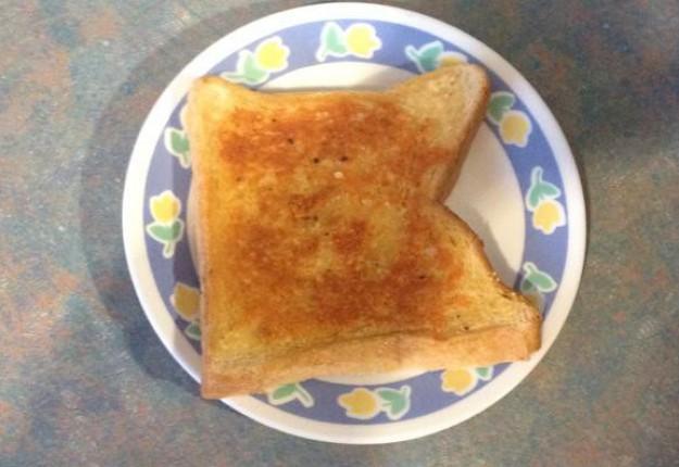 Sizzler bread