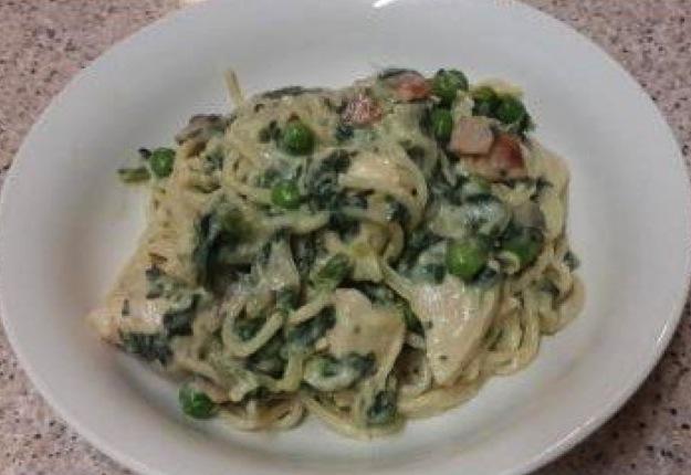 Very vegetable carbonara