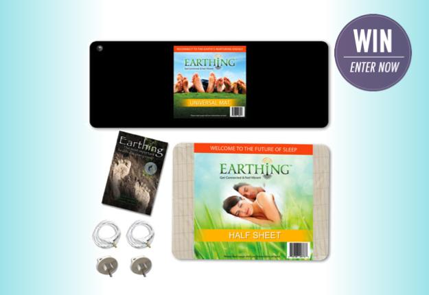 WIN 1 of 2 Earthing™ starter packs from Earthing Oz