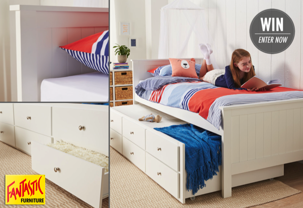 Win A Jordan Single Captain Bed From Fantastic Furniture Competition