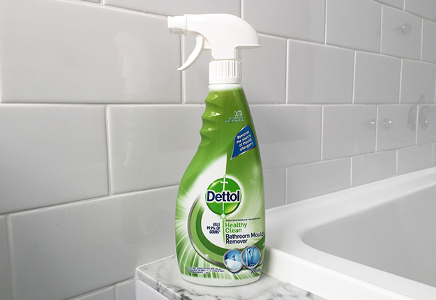 Dettol healthy clean bathroom mould remover product review for Clean mold in bathroom