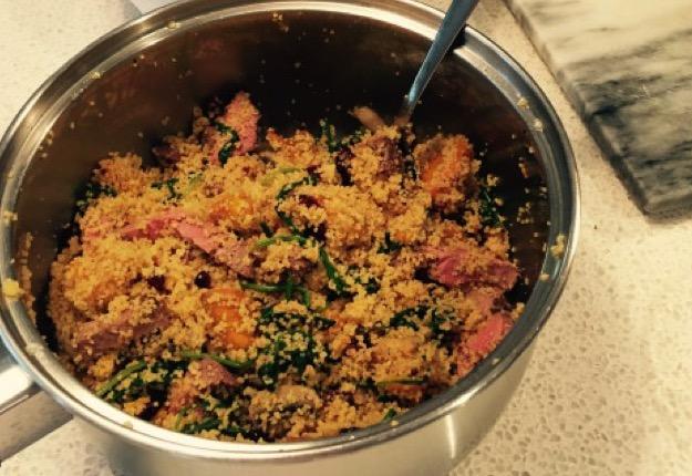 One pot couscous feast