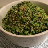 Broccoli and Quinoa 'Rice'