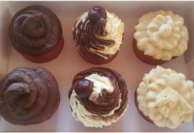 Choc mud cupcakes