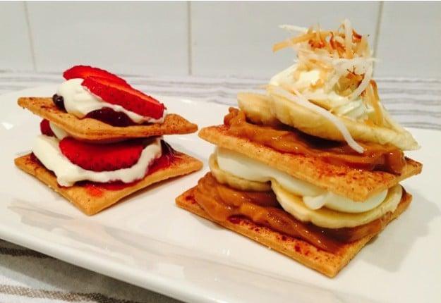 Short Crust Pastry Stacks