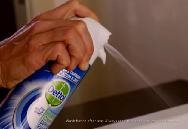 Dettol Healthy Clean Bathroom Rapid Foam