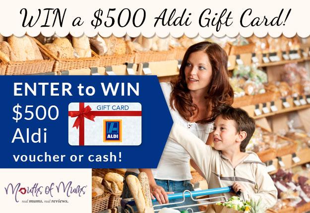 WIN a $500 ALDI gift card! - Competition