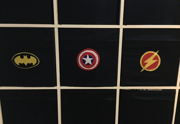 Superhero boxes
