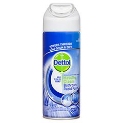 Dettol Healthy Clean Bathroom Rapid Foam Product Review - Good bathroom cleaner