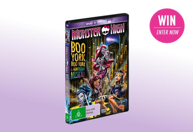 WIN 1 of 20 Monster High: Boo York, Boo York DVDs